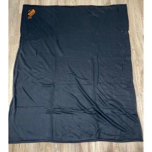 "🍄2 for $15🍄 NEW   Navy Fleece Blanket 60"" x 48"""